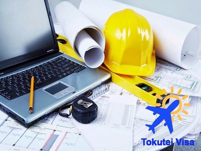 Visa Tokutei loại 2 chấp nhận 2 ngành là xây dựng và đóng tàu hàng hải