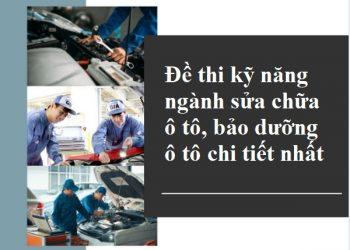 de-thi-ky-nang-nganh-sua-chua-o-to